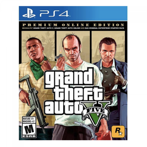 GRAND THEFT AUTO V PREMIUM EDITION - LATAM PS4